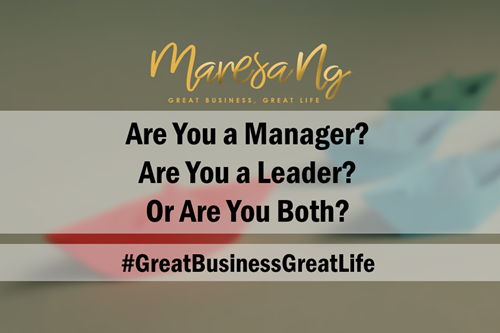 Leadership Versus Management Checklist for Business Owners
