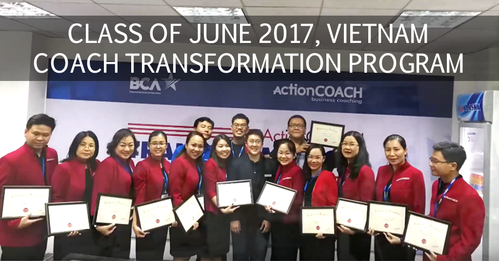 Maresa Ng ActionCOACH Coach Transformation Program Vietnam June 2017