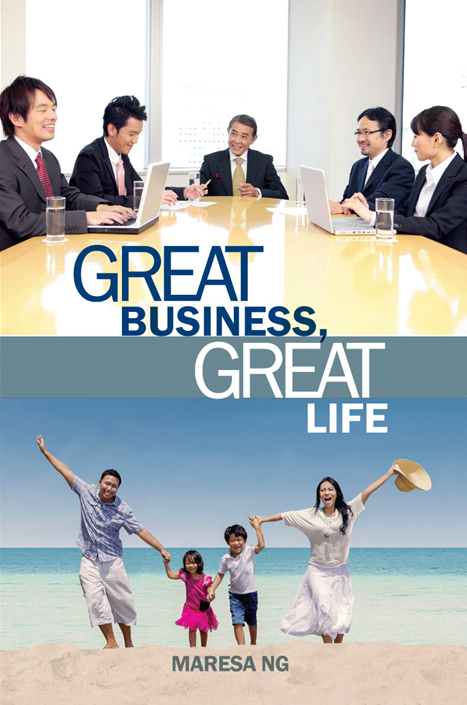 Great Business Great Life Book Cover