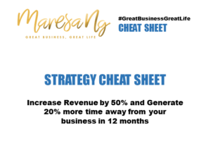 Revenue Strategy Cheat Sheet More Time
